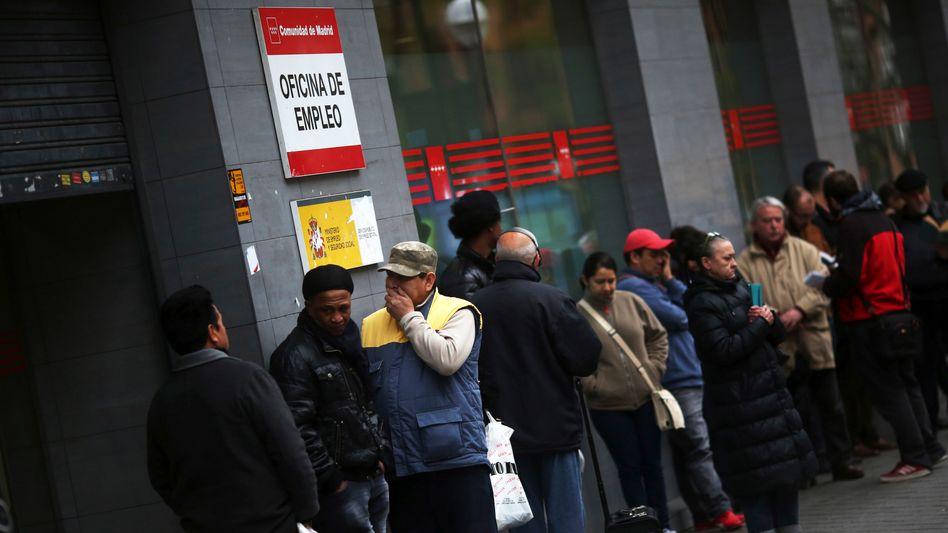 """Arbeitslose in Spanien: """"Der Euro-Zone ein menschliches Gesicht verleihen"""""""