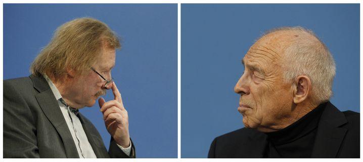 """Sloterdijk bei Debatte mit Geißler: """"Vergraulung der Mitte"""""""