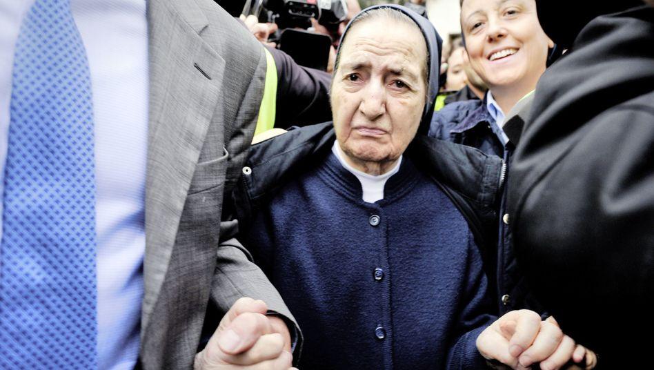 Sor María Gómez Valbuena, a member of the Daughters of Charity