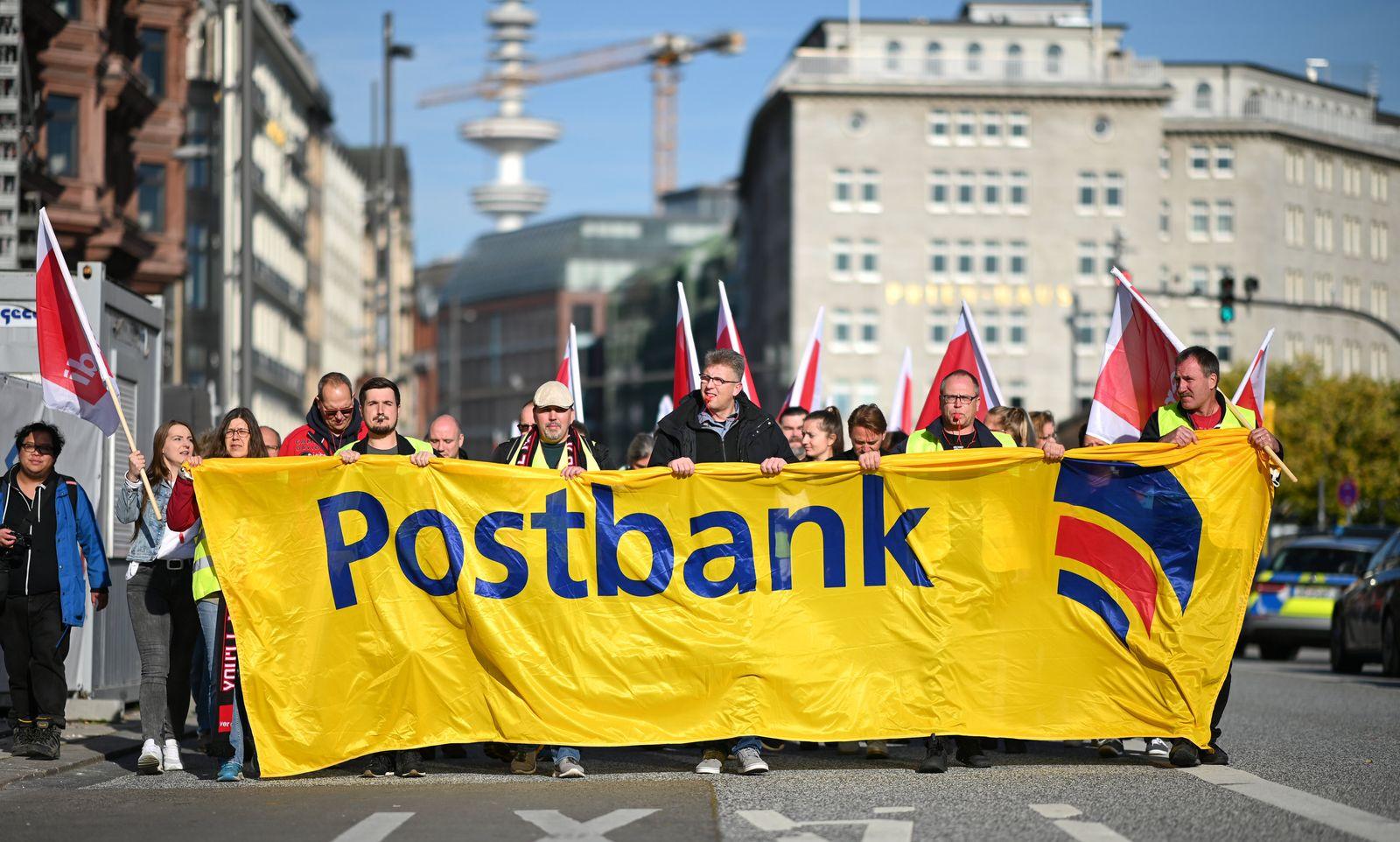 Warnstreik bei der Postbank