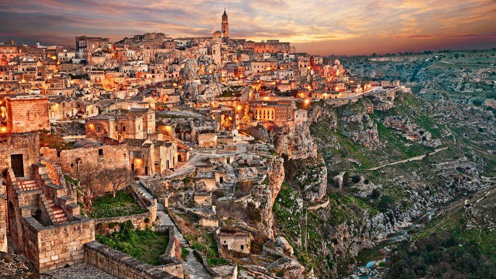 Kulturhauptstadt Matera: Hollywood in der Höhlenstadt