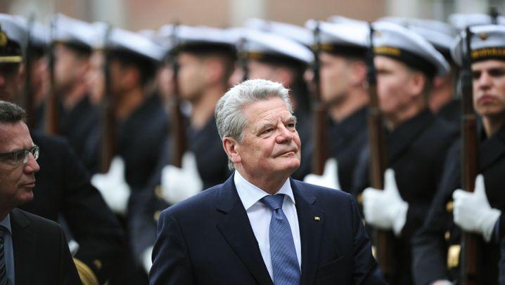 Gauck bei der Bundeswehr: Klare Worte in der Kaderschmiede