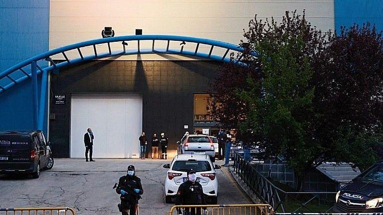 Eisstadion in Madrid