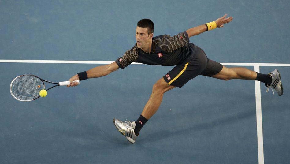 Djokovic gegen Ferrer: Keine Chance für den Spanier