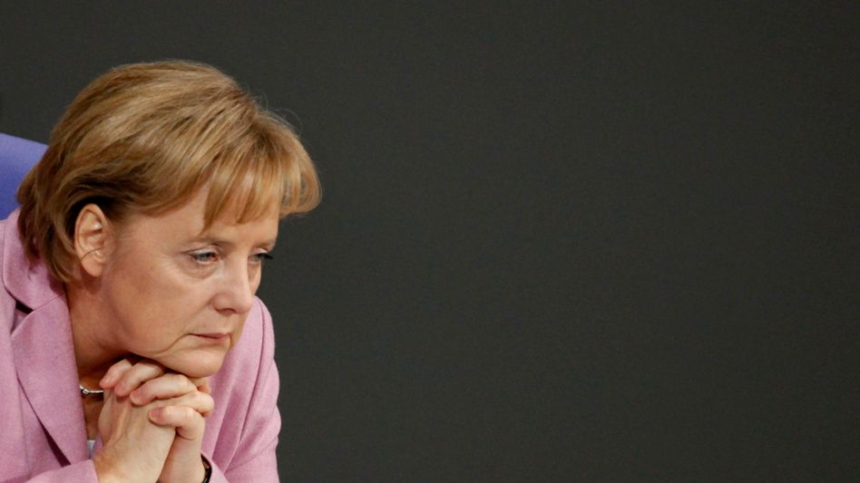 Kanzlerin Merkel: Bürger vermissen Führungsstärke
