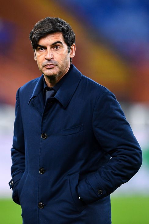Paulo Fonseca will only coach AS Roma until the summer