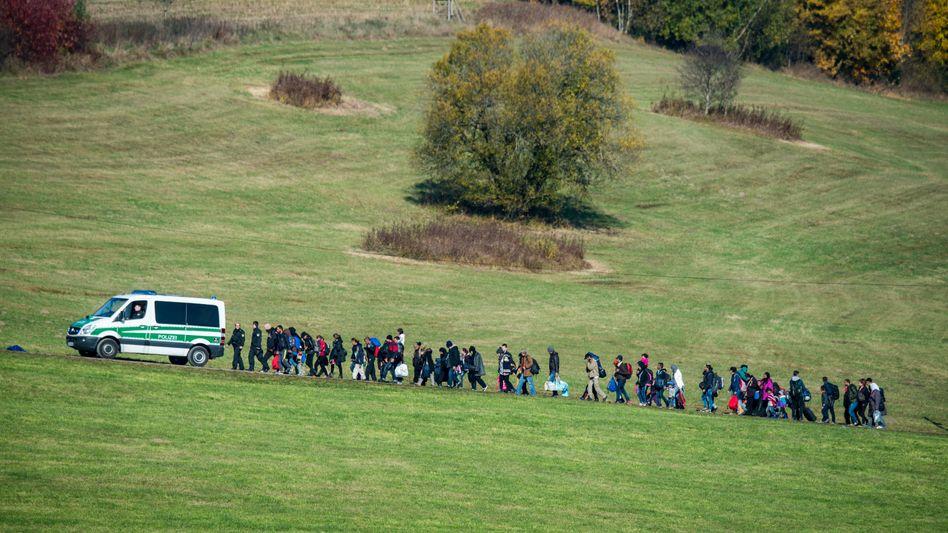 Flüchtlinge im Oktober 2015