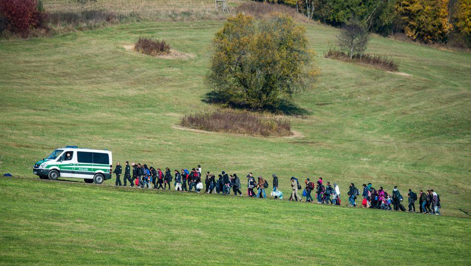 Flüchtlinge (in Bayern, Archivaufnahme)