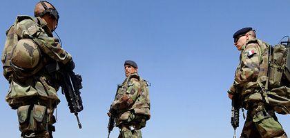 """Französische Soldaten in Kabul (Archivbild): """"Wir mussten die Nacht durchkämpfen, und es geht weiter"""""""