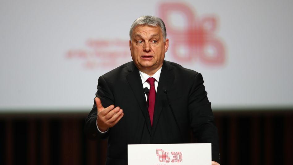 Ungarns Regierungschef Viktor Orbán: Bruch mit der EVP-Fraktion
