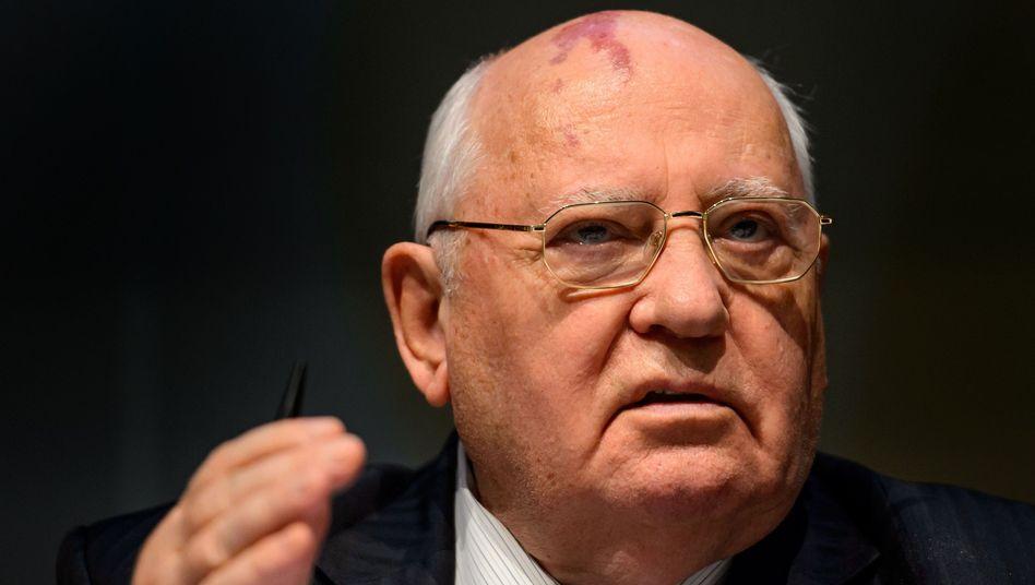 Michail Gorbatschow (bei einer Umwelt-Konferenz im Jahr 2013): Warnung vor Krieg in Europa