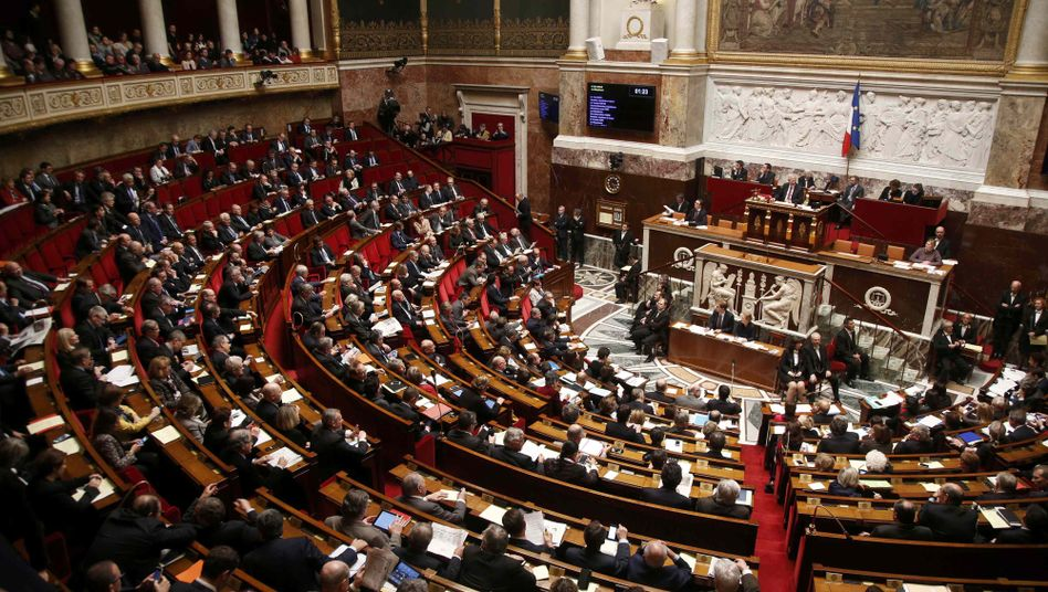Französische Nationalversammlung (Symbolbild)
