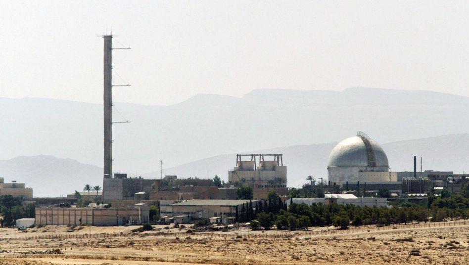 Israelische Nuklearanlage Dimona in der Negev-Wüste: Tests gegen die gefürchtete schmutzige Bombe