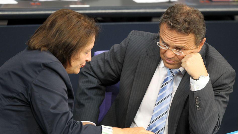 Innenminister Friedrich, Justizministerin Leutheusser: Neuer alter Streit