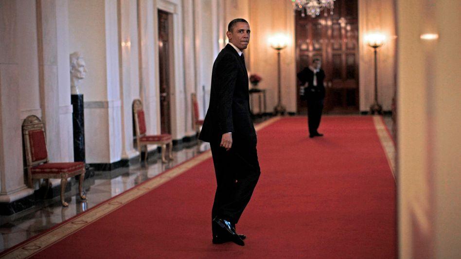 Präsidentengehalt: Keine Million US-Dollar verdiente Barack Obama im Jahr 2012