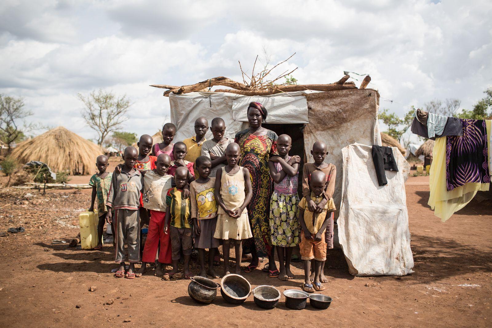EINMALIGE VERWENDUNG Uganda Flüchtlingspolitik
