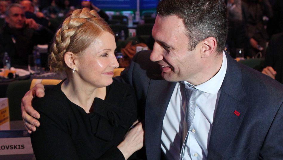 Kongress der EVP: Timoschenko stiehlt Klitschko die Show