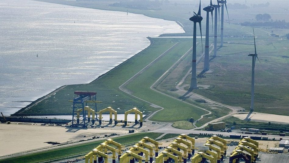 Offshore-Firma CSC in Cuxhaven 2009: »Der Markt ist zusammengebrochen«