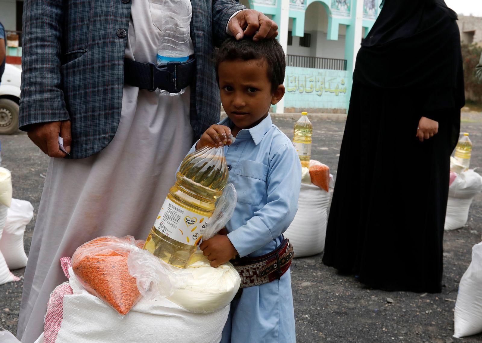 Humanitarian crisis in Yemen, Sanaa - 16 Jul 2020