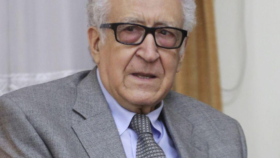 Brahimi in Teheran (Archivbild): Vermittler in Syrien-Konflikt tritt ab