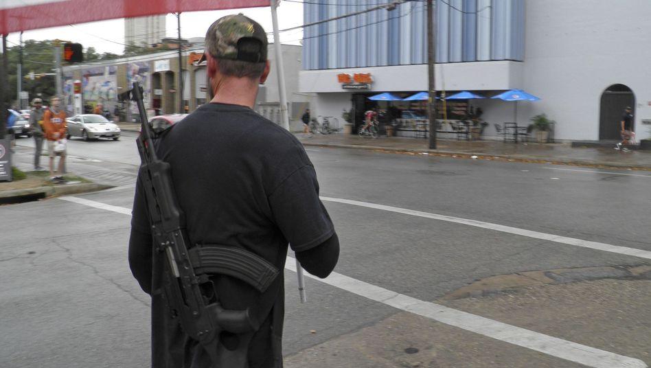 Sieg der Waffenlobby: Eine Uni in Texas musste ihr Waffenverbot aufheben.