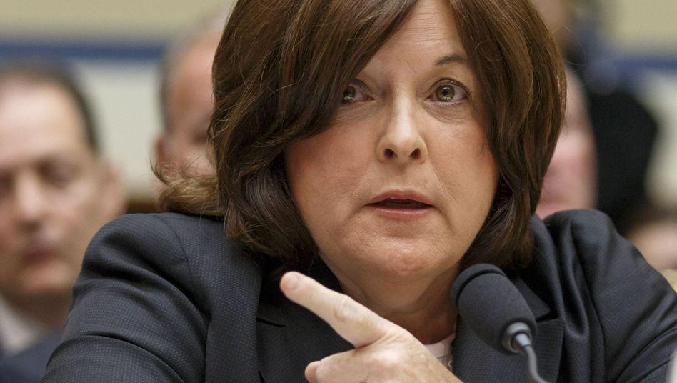 """Julia Pierson, Leiterin des Secret Service: """"Wir sind schockiert."""""""