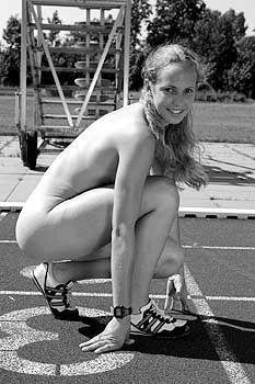 Nackt leichtathletin Lisa Ryzih,
