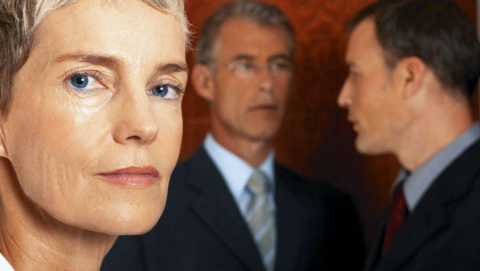 Grummel dich hoch! Fröhlichen Frauen werden seltener Chefs