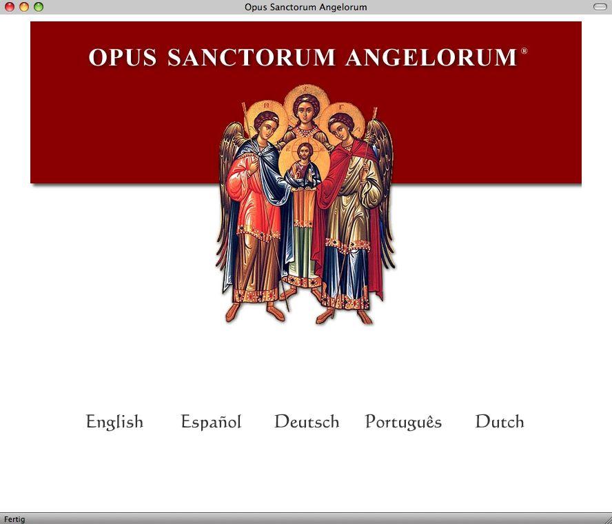 EINMALIGE VERWENDUNG Opus Sanctorum Angelorum / Engelwerk / Screenshot