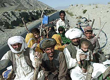 """Afghanische Flüchtlinge: """"Schutzzonen unter Uno-Mandat"""""""