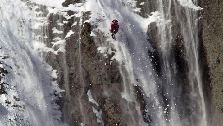 Freeriding: Saltos und Schrauben im Schnee