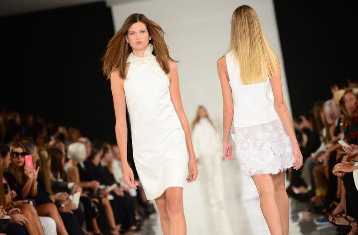 Der Sommer wird weiß: Models bei Ralph Lauren