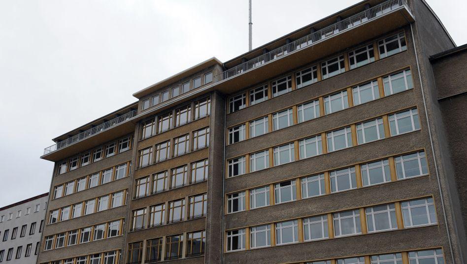 Ehemalige Stasi-Zentrale der DDR in der Berliner Normannenstraße