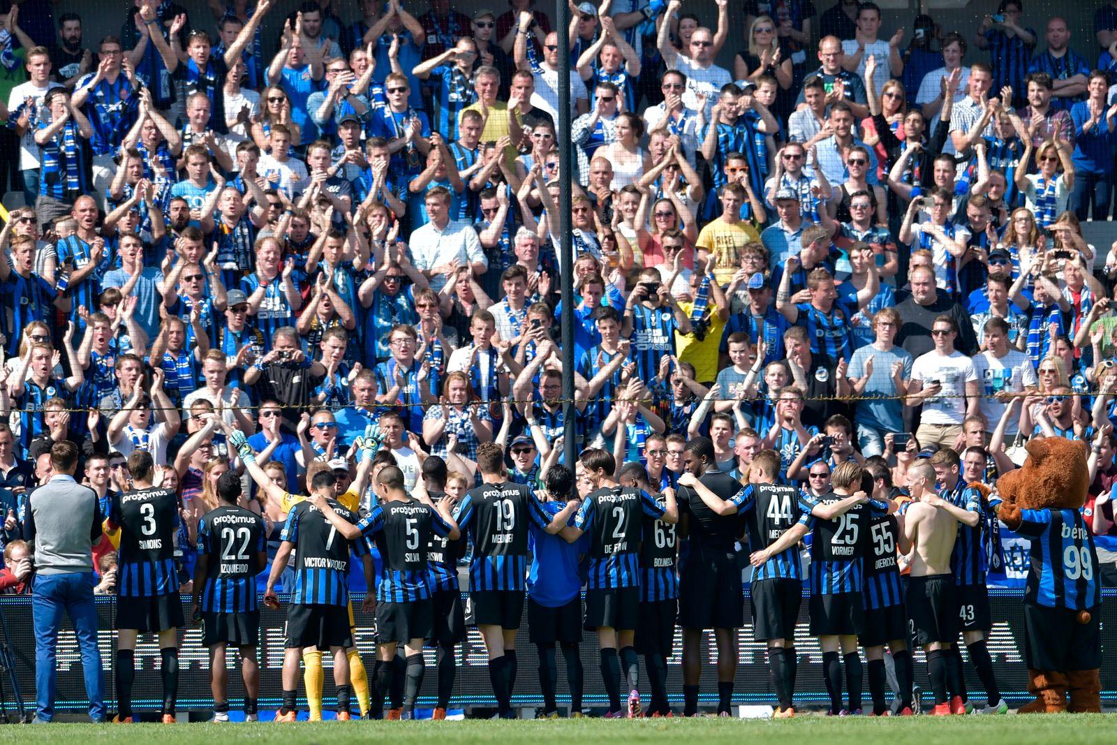 Club Brugge v KV Kortrijk - Jupiler Pro League PO 1