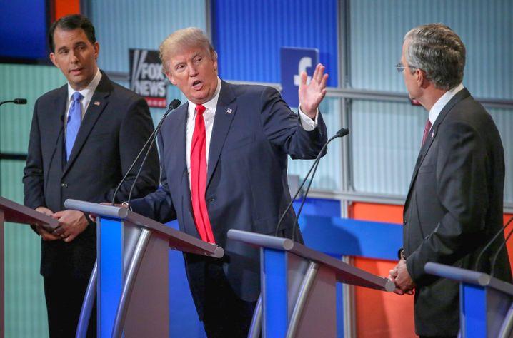 Murdoch-Alliierter Trump bei einem Fox-News-Auftritt: Weltordnung von Ruperts Gnaden