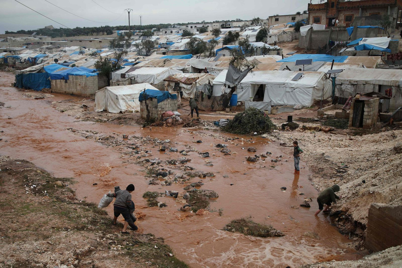 SYRIA-CONFLICT-DISPLACED