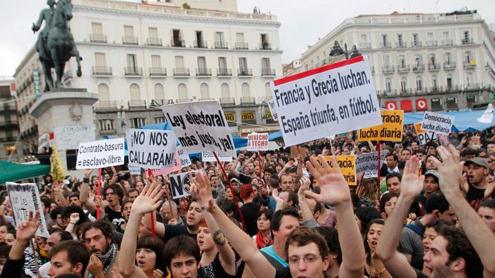 Proteste: Spaniens Jugend auf den Barrikaden