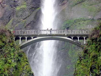 Am Scenic Highway nahe Portland: Der eigentliche Erlebnis in Oregon ist der Reichtum der Landschaft