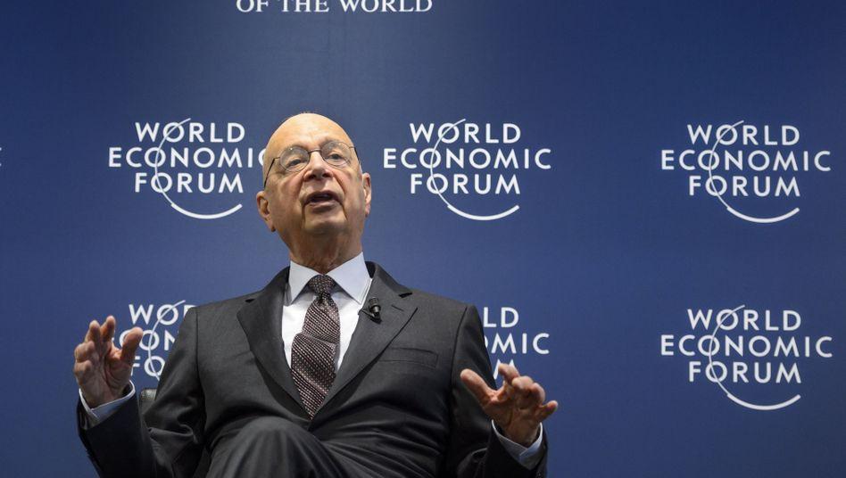 WEF-Gründer Klaus Schwab: Er ruft die Mächtigen zusammen