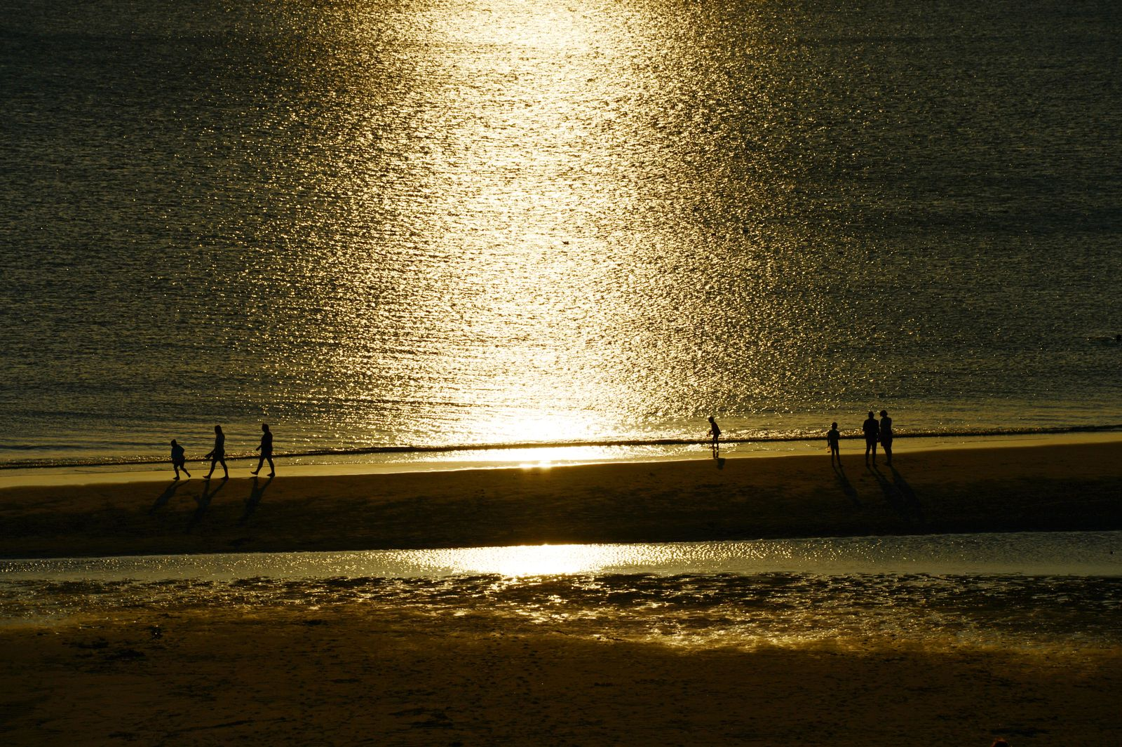 Entspannen auf Sylt / Glück / Strand / Sonnenuntergang / Urlaub