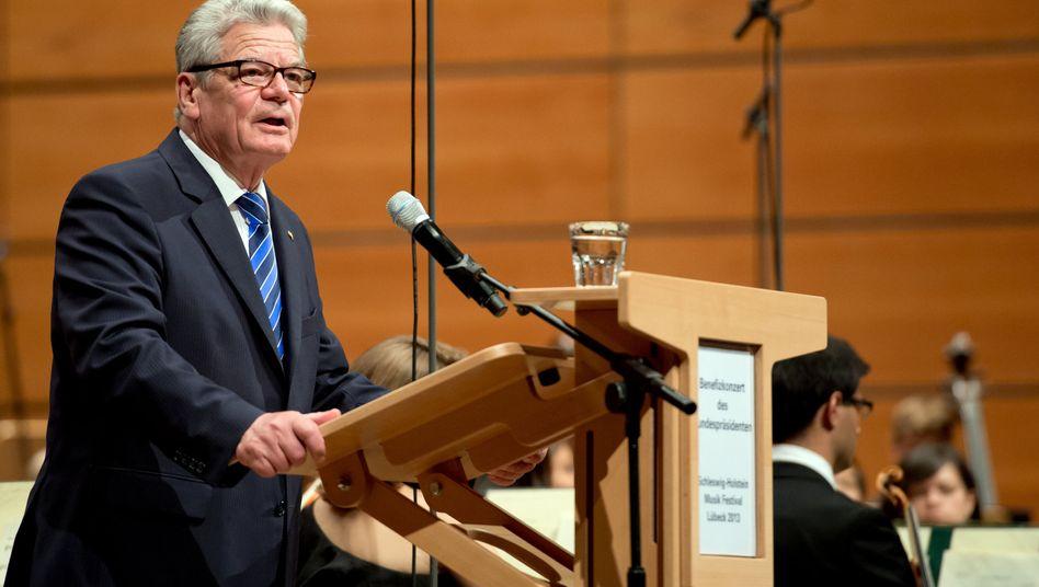 """Präsident Gauck: """"Wünsche mir einen ebenso fairen wie klaren Wahlkampf"""""""