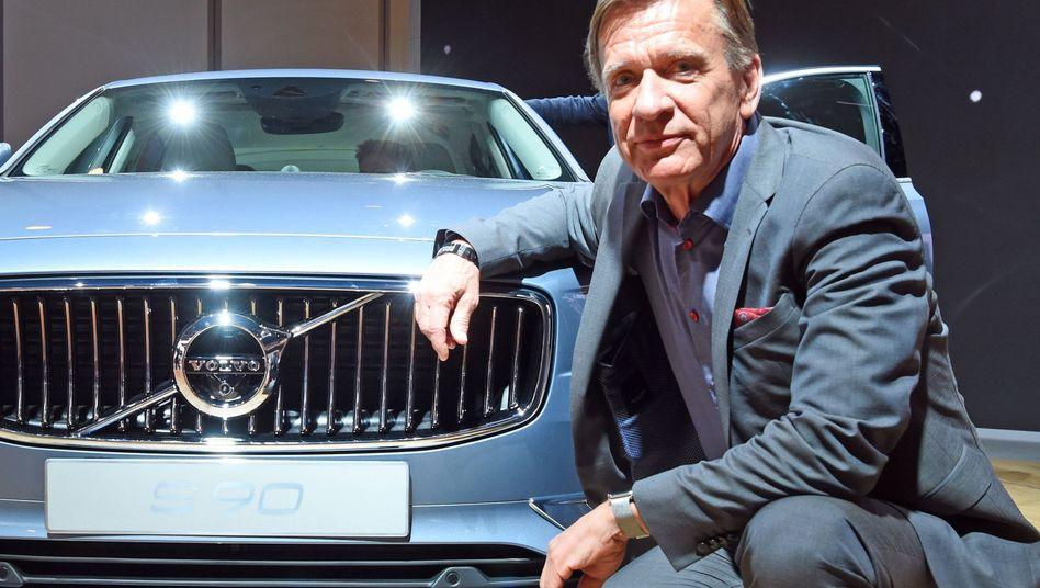 Volvo-Vorstand Hakan Samuelsson