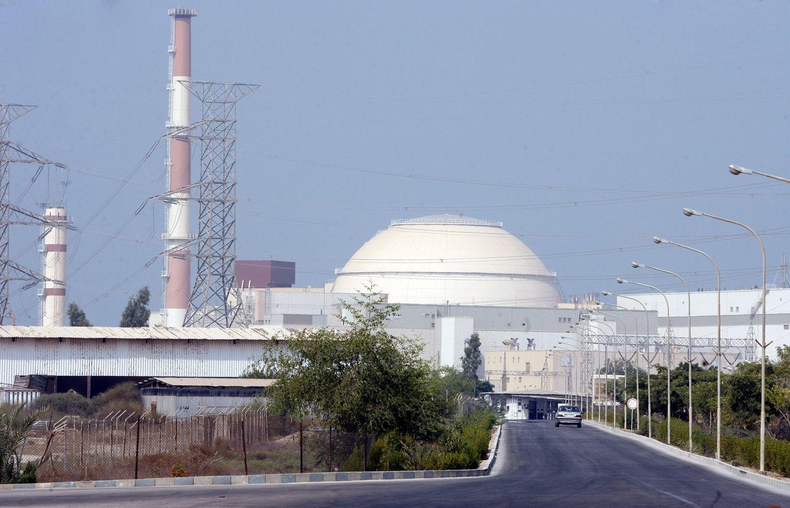Atomkraftwerk Buschehr im Iran