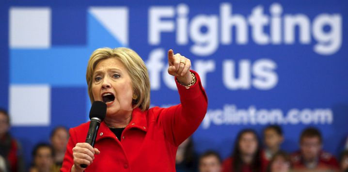 Hillary Clinton holt sich Unterstützung: Mit dem Ehemann für den Sieg