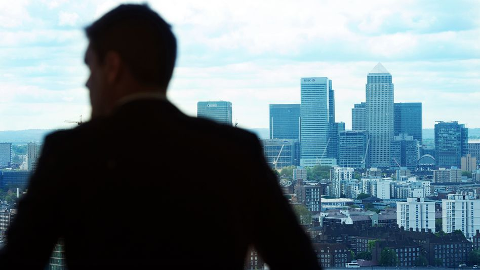 Londoner Bankenviertel (Symbolbild)
