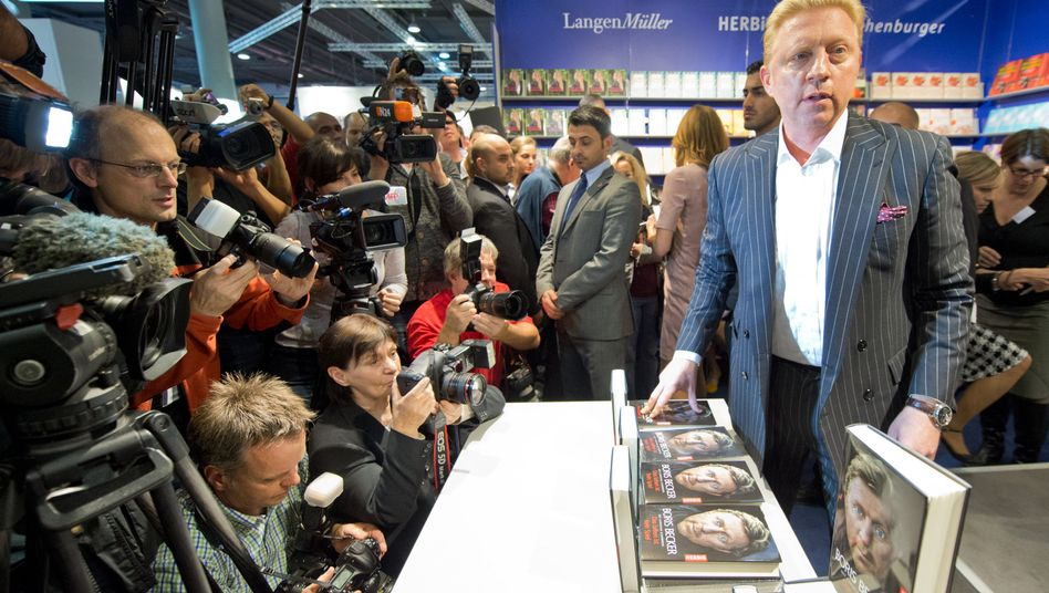 Buchautor Boris Becker in Frankfurt: Luxusrentnerdasein aufpeppen