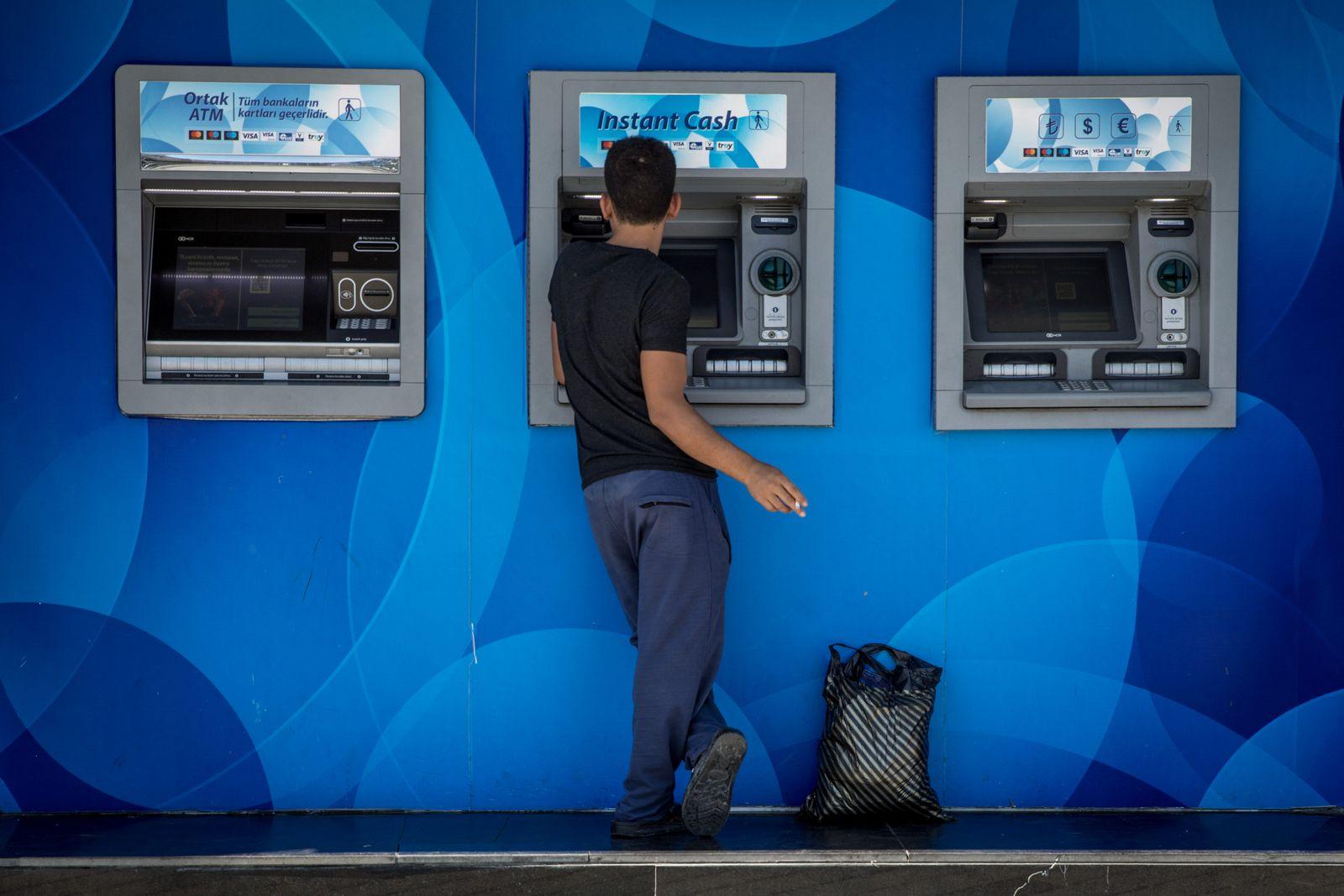 Geldautomaten / Türkei