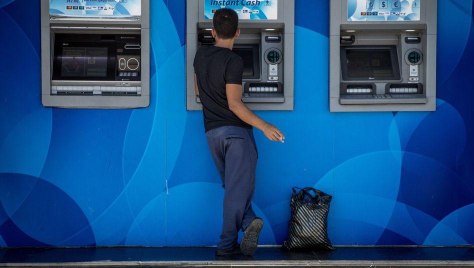 Geldautomaten (in Istanbul)