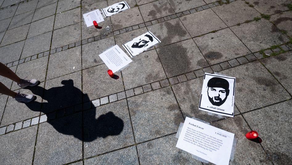 Gedenken an die Opfer von Hanau (hier in Stuttgart)