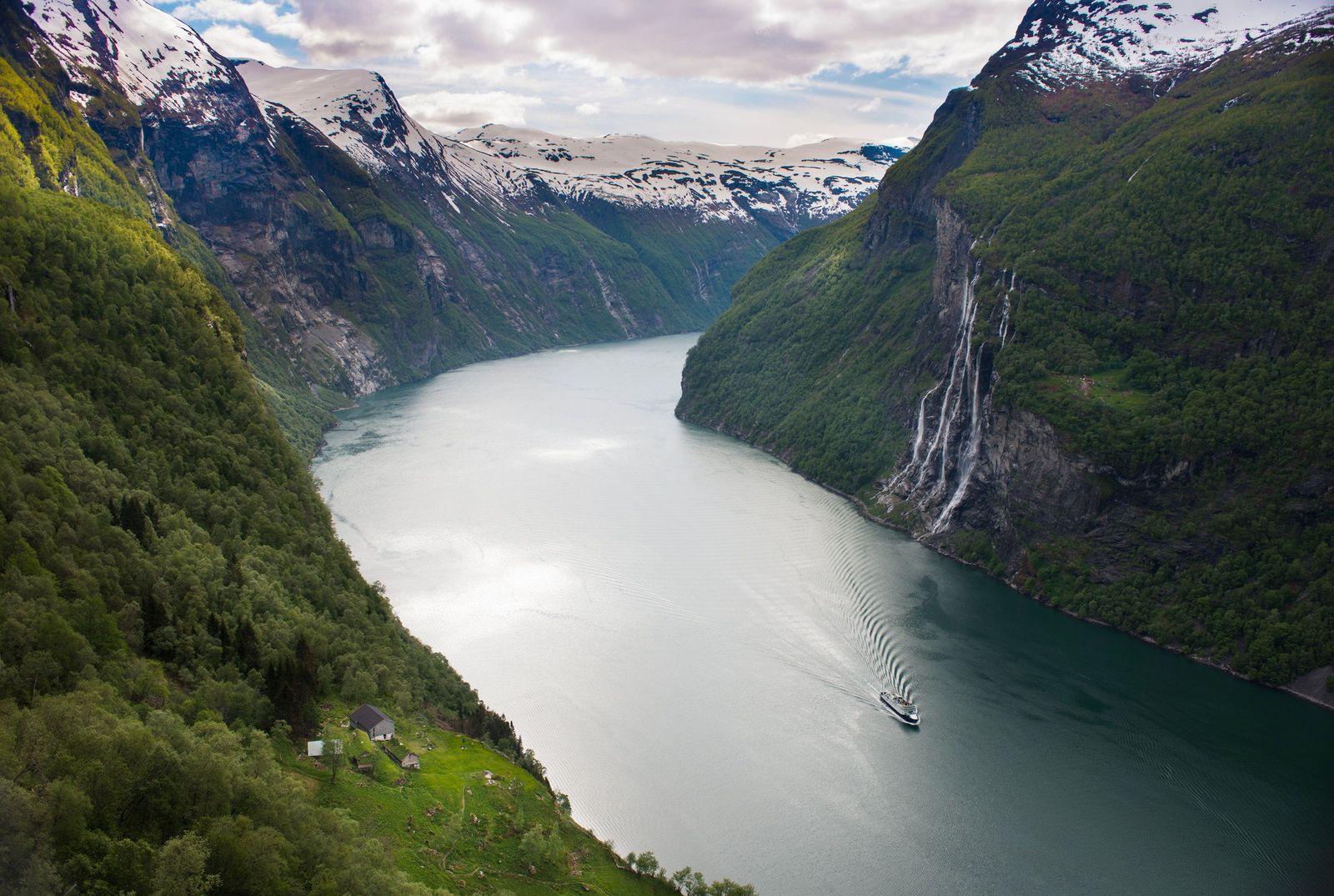 EINMALIGE VERWENDUNG Norwegischen / Landschaftsrouten / TMN